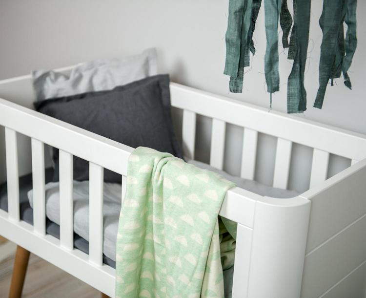 Troll  Minisäng Retro spjälsäng babysäng stilren och snygg babysäng