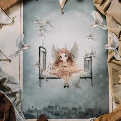 Mrs Mighetto -  Miss Olivia poster 50x70 cm