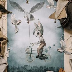Mrs Mighetto - Mr Simon poster 50x70 cm