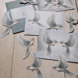 Mrs Mighetto -  Oh Birds Dekoration DIY