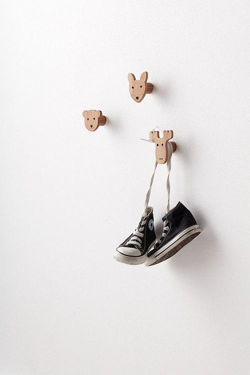 Kids Concept - Krokar till barnrummet olika figurer