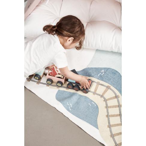 Kids Concept - Leksakståg med djur
