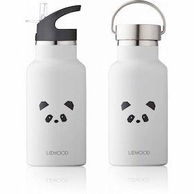 Liewood - Termos Vattenflaska Panda Ljusgrå