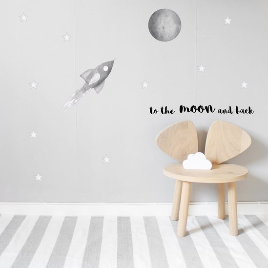 Stickstay - Ljusgrå raket