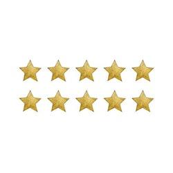 Stickstay - Vintage guld stjärnor 10 pack