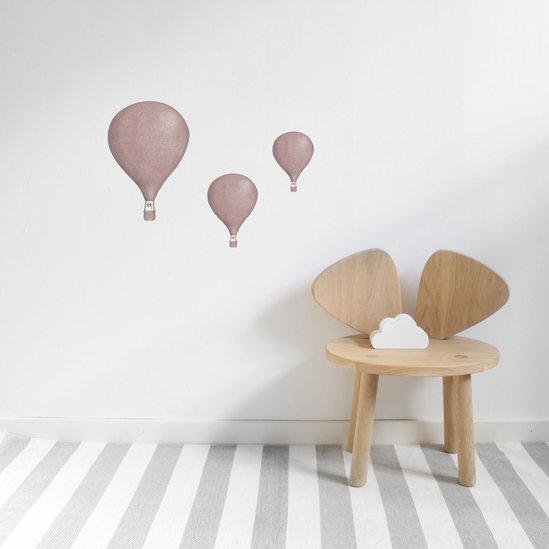 Stickstay - Dusty rosa Luftballonger