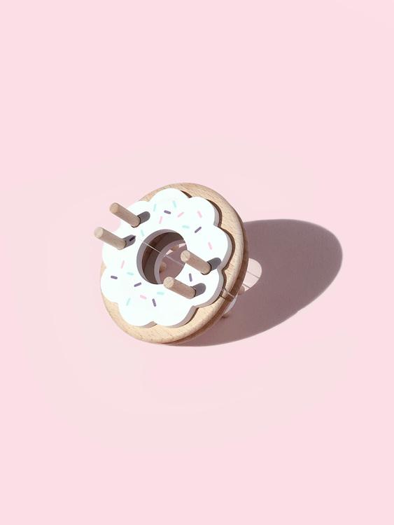 Pom Maker - Gör en egen pompom vit