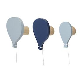Bloomingville Mini - Krokar Ballonger Blå 3-pack