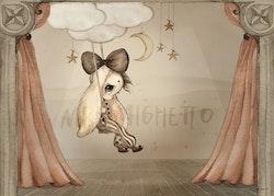 Mrs Mighetto - Miss Hazel 70x50cm