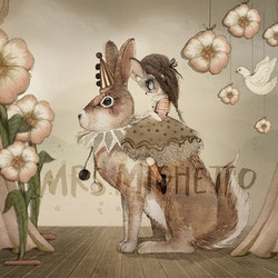 Mrs Mighetto - Miss Poppy 50x40 cm