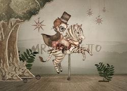 Mrs Mighetto - Mr Frank 70x50 cm