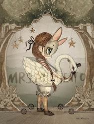 Mrs Mighetto - Miss Edda Mini poster 18x24 cm