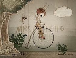 Mrs Mighetto - Mr John Mini poster 24x18 cm