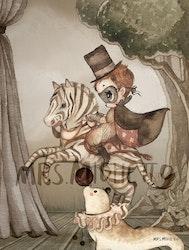 Mrs Mighetto - Mr Frank Mini poster 18x24 cm