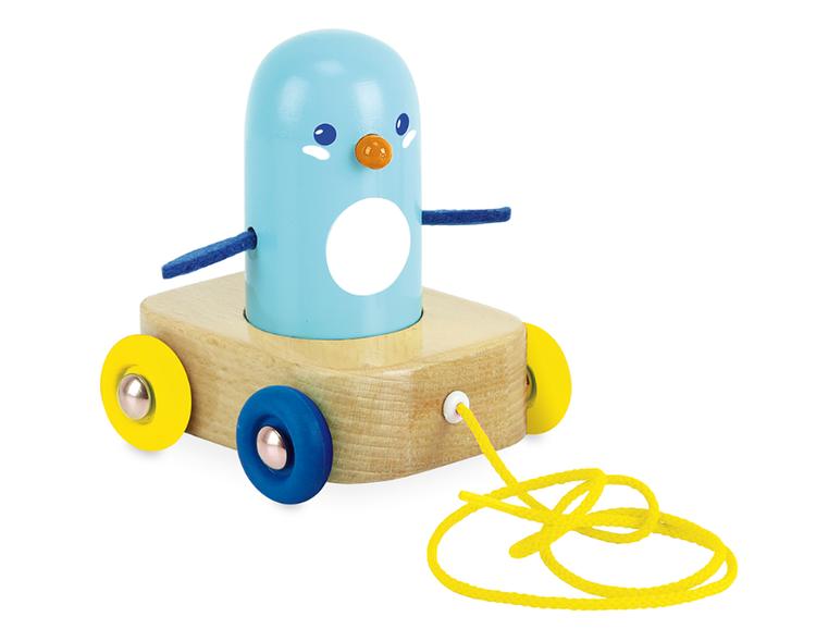 Vilac - Dragdjur Pingvin