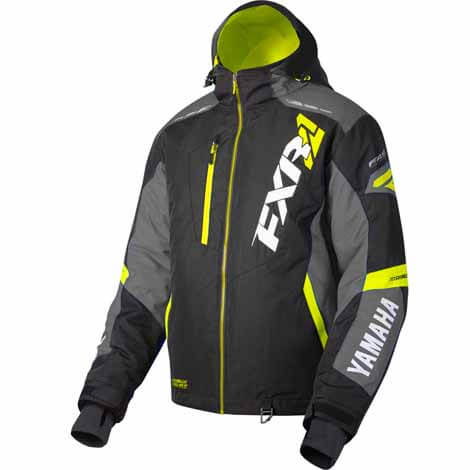 YAMAHA MISSION FX JACKET BY FXR® BLACK/CHARCOAL/HI-VIS
