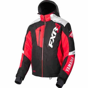 YAMAHA MISSION FX JACKET BY FXR® BLACK/RED/WHITE