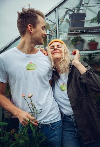 T-shirt prinsesstårta unisex