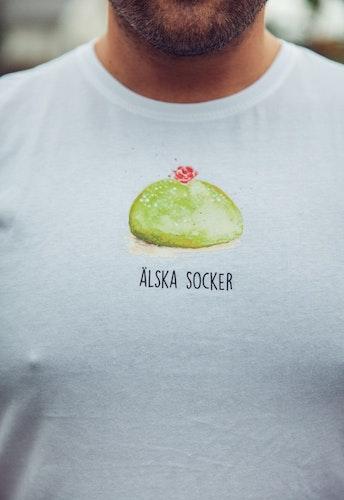 T-shirt älska socker  unisex