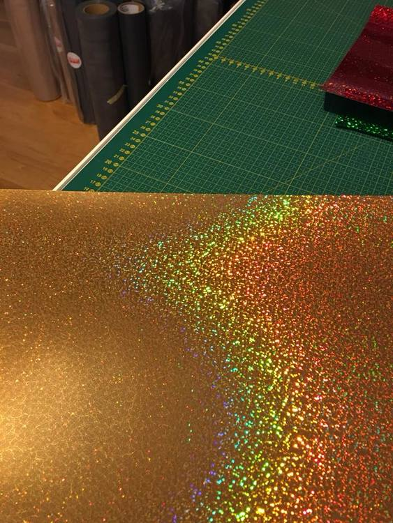 Stahls Holographic, Guld (ST_903)