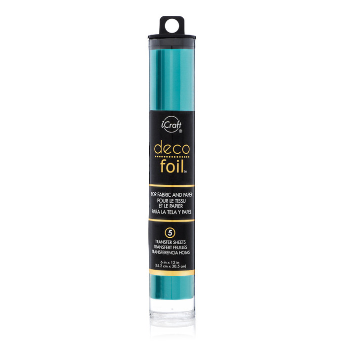 Thermoweb iDeco Foil, Turquoise Satin