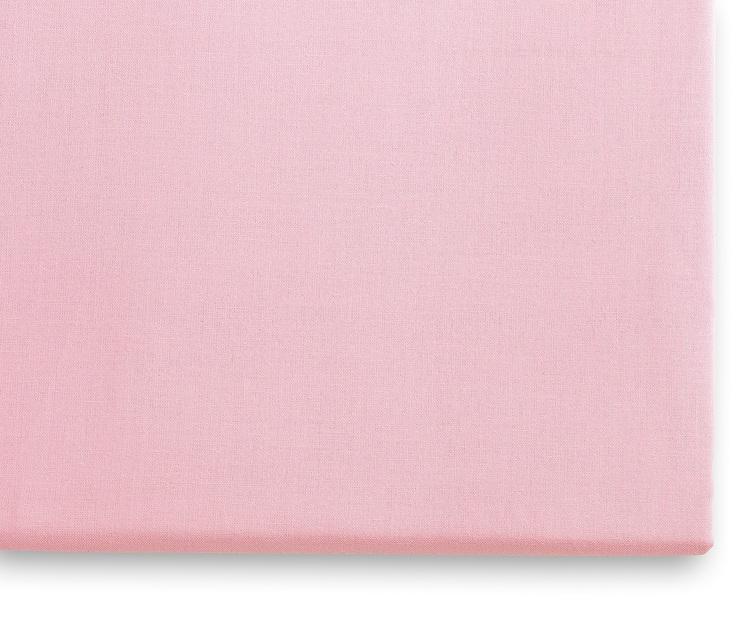 Rosa örngott, 100% bomull Öko-Tex. 50x60cm