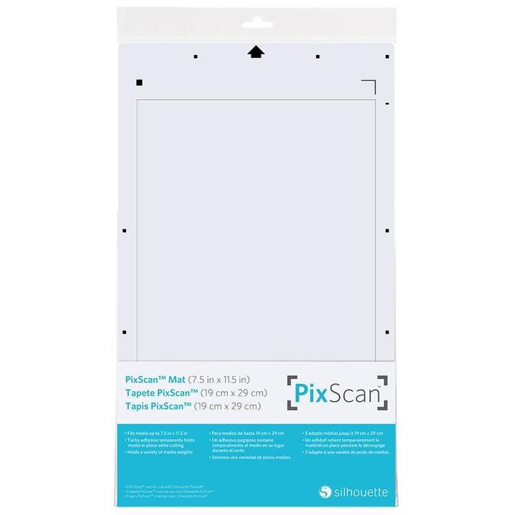 PixScan skärmatta till Silhouette Portrait