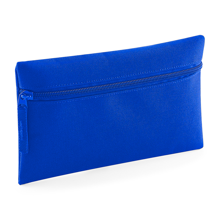 Royal blue pennfodral med dragkedja