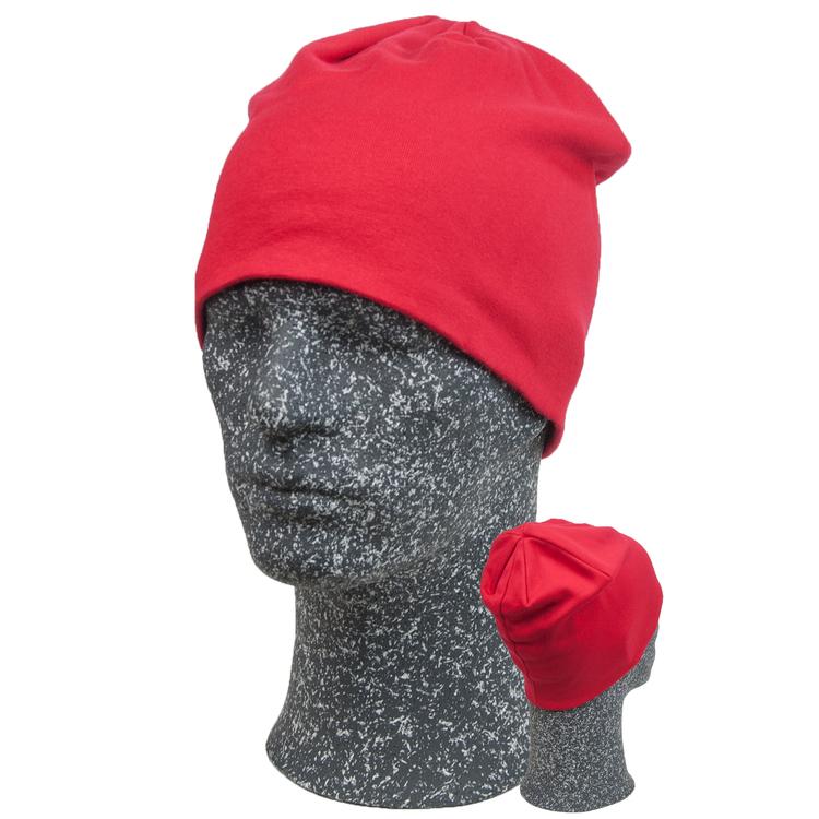 Sunna-mössan i rött