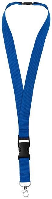 Nyckelband, blå