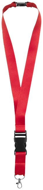 Nyckelband, röd