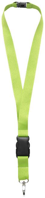 Nyckelband, limegrön
