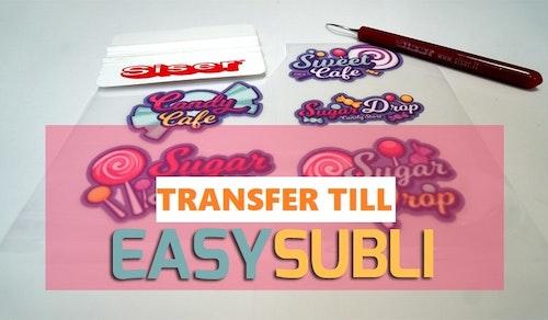 Siser TTD Special, transfer till Easy Subli