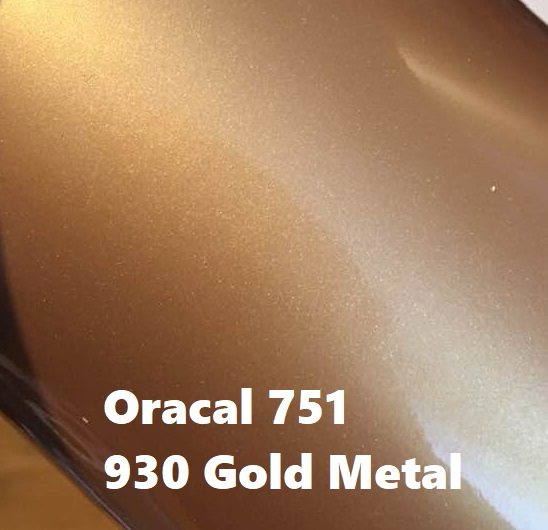 Oracal 751, Guld Metallic