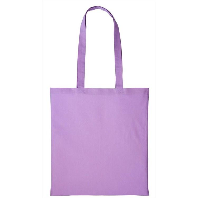 Tygkasse med långa handtag, Lavendel