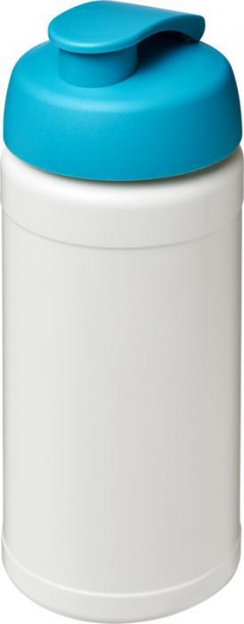 Vattenflaska, flipkork Vit/Aqua