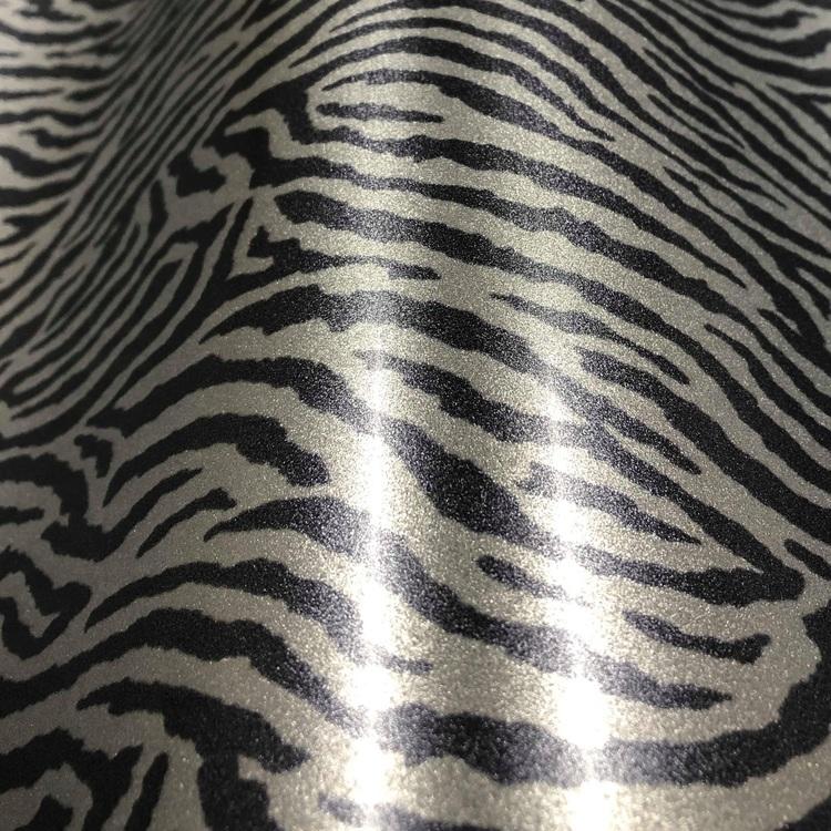 Shiny Shimmer, Zebra Silver