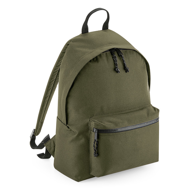RENew recycled backpack, Militärgrön