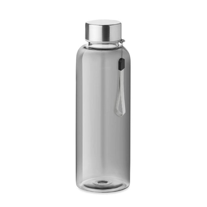 RPET-flaska transparent grå