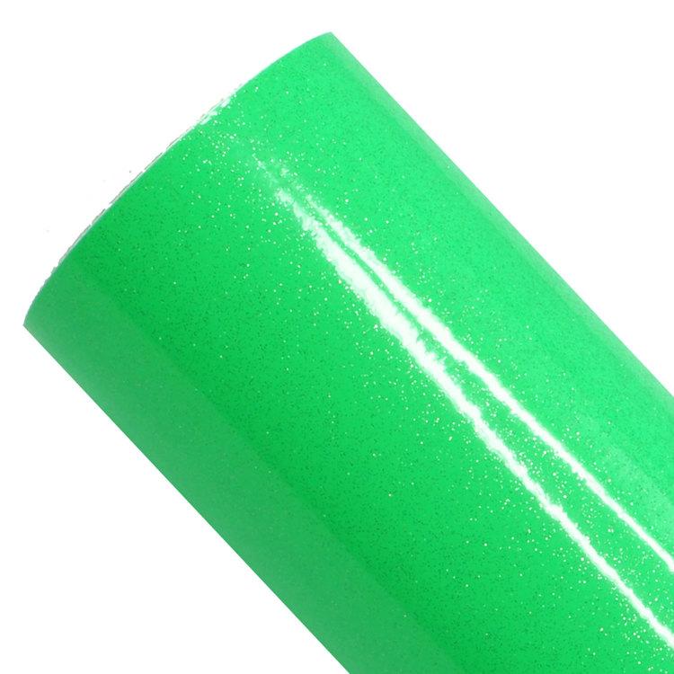 Ultra glitter, fluo grön
