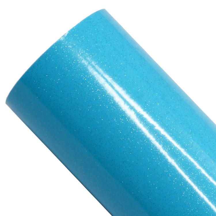 Ultra glitter, fluo blå