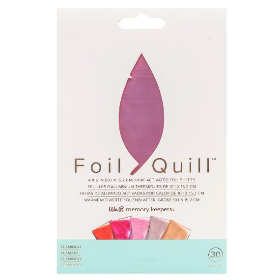 Foil Quill Sheet-pack, Flamingo