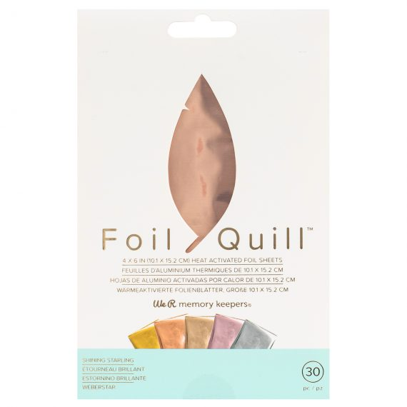 Foil Quill Sheet-pack, Starling