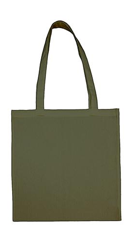 Tygkasse med långa handtag, Militärgrön