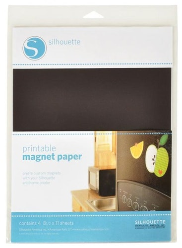 Silhouette Printbart Magnetpapper