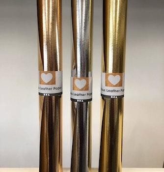 Läderpapper Metallic