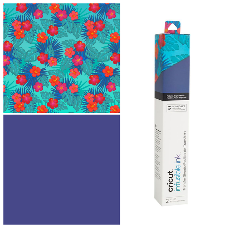Infusible Ink Transfer Sheet 2-pack, Tropical Floral