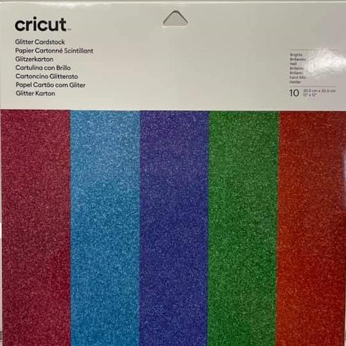 Cricut Glitter Cardstock