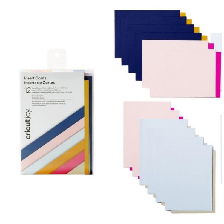 Cricut Joy Insert Card XL, Sensei Sampler (12-pack)