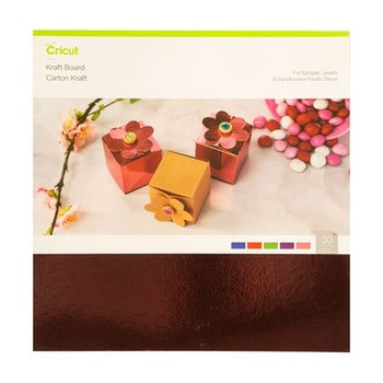 Kraft Board Foil sampler